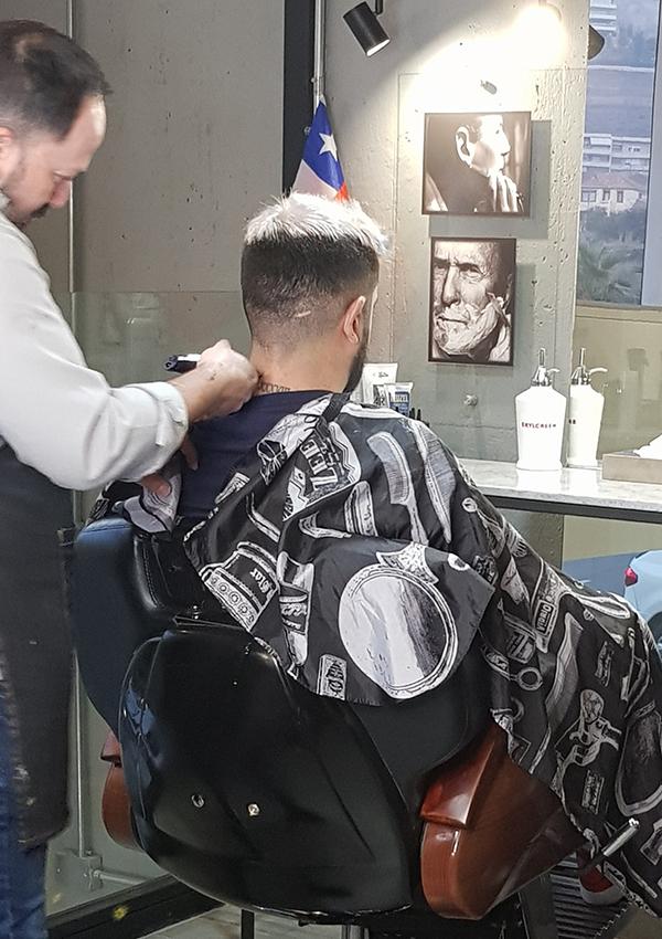 Barbería just for men barba