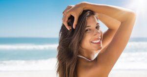 cuidado del cabello durante el verano